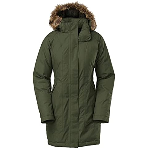 The North Face Arctic Parka Piumino, Foresta Notte Verde, donna, Arctic, Forest Night Green, L