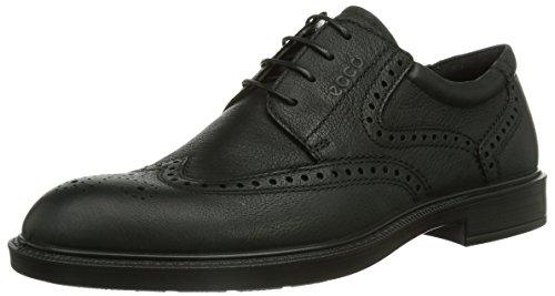 Ecco  ECCO ATLANTA, Chaussures de ville à lacets pour homme Noir - Schwarz (BLACK 01001)