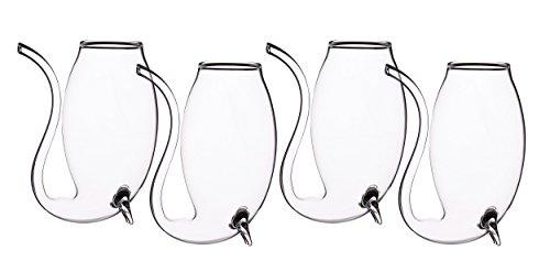 Trinkgläser für Portwein und Likör, Set mit 4Stück, transparent, von Bar Craft