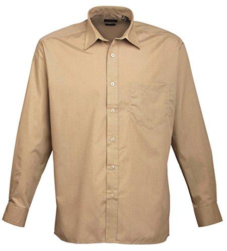 Premier - Camicia in Popeline Manica Lunga - Uomo Off-White