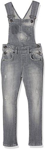 LTB Jeans Mädchen Latzhose Carmin G, Grau (Usiel Wash 50345), 176 (Herstellergröße: 15-16)
