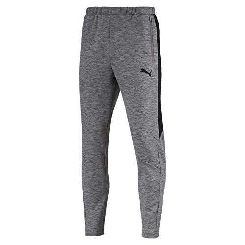 Puma Herren EVOSTRIPE Pants Hose, Medium Gray Heather, M