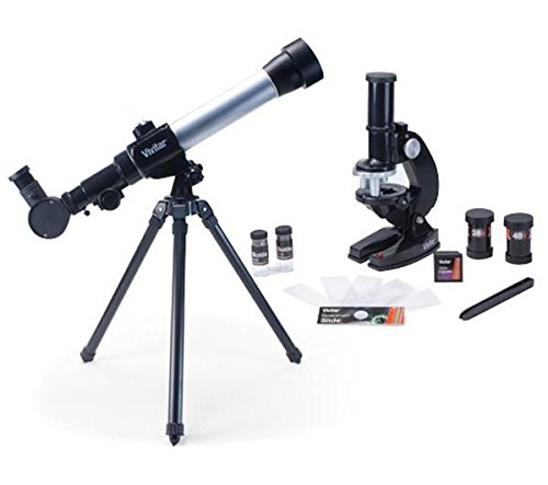 Vivitar 20X 30X 40X Refractor Telescope and Microscope Set