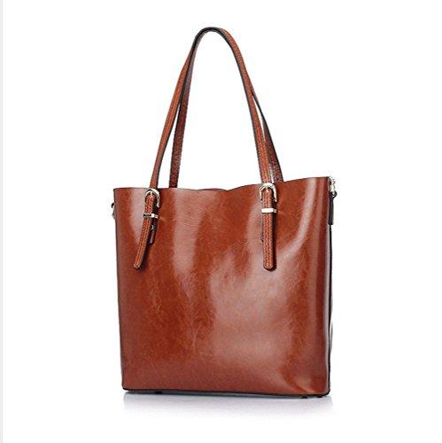 XY Fancy, Borsa a spalla donna rosso Rot, Grau (grigio) - RH#BB0918-1586-JPY97 Gelb
