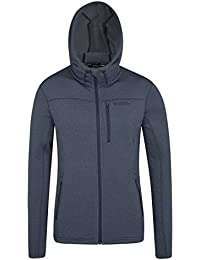 Mountain Warehouse Sweat Homme Capuche Polaire épais Coupe-vent Excel