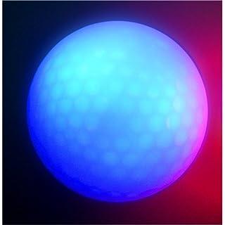 15Super Bright Night Flyer Glowing LED Golf Ball (unterschiedliche Farben)