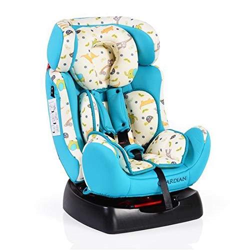 Kindersitz Guardian Gruppe 0/1/2 (0-25 kg) mit Kopfpolster von 0 bis 7 Jahre blau