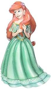 Enesco Disney Showcase Couture de Force The Little Mermaid Ariel Stone Resin Figurine Statuetta, Multicoloured