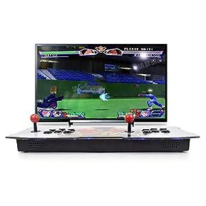 Lamptti 2260 in 1 Arcade-Videospielkonsole – Klassische 3D-Arcade-Automaten, 2 Spieler Pandoras Box 5S Double Stick Schaltflächen Power HDMI