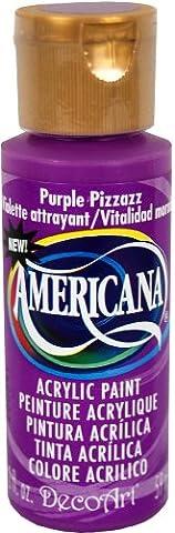 DecoArt Americana Acrylic Multi-Purpose Paint, Purple Pizazz