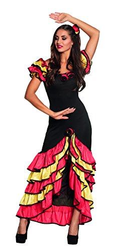 Boland 83529 - Erwachsenen Kostüm Rumba Tänzerin, Größe 40/42, Mehrfarbig