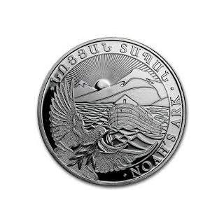 Arche Noah 1 Unze Silber Münze Silbermünze 1 oz in Münzkapsel