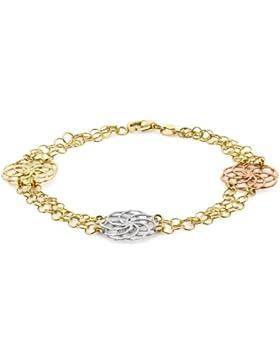 Carissima Gold Damen-Armband Gold (3 Farben) gelb 9k one size 3.26.2372