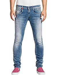 Replay Hyperflex Herren Stretch Jeanshose Anbass
