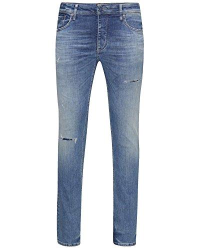 JACK & JONES Herren Slim Jeanshose JJITIM ORIGINAL JJ 925 NOOS Blau