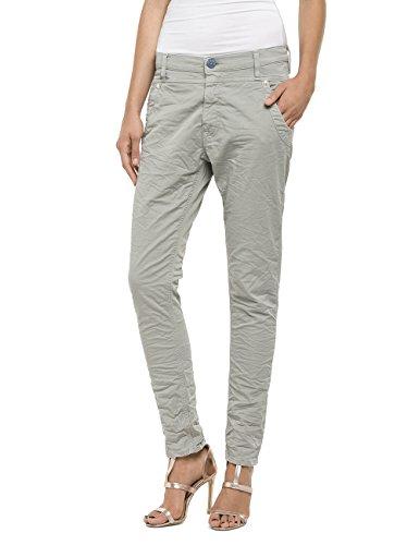 Damen Stretch-wolle Slim Pant (Replay Damen Slim Jeanshose Denice, Gr. W28, Grau (LIGHT GREY 10))