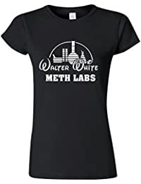 Funny Ladies Walter White Breaking Bad Parody T Shirts Womens Girls Tee Top Clothes S-XXL Size