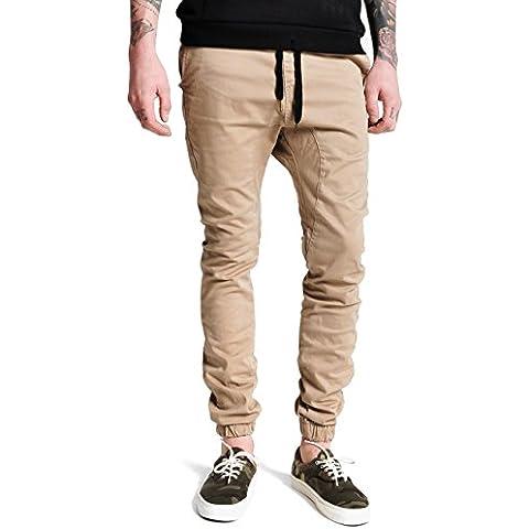 Italy Morn Pantaloni Casual Uomo Pantaloni Skinny