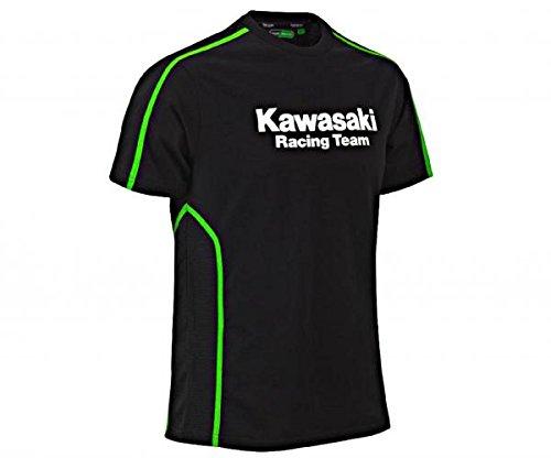 Kawasaki KRT Technical T-Shirt Schwarz Größe XL/2XL (T-shirt Schwarz Alex)