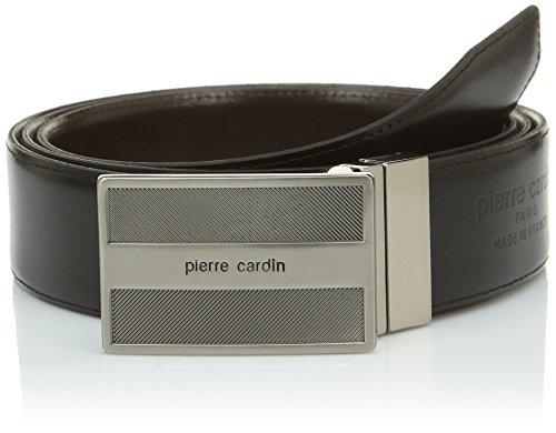 Pierre Cardin 1391372 Ceinture, (Noir/Marron), FR: 110 cm (Taille Fabricant: 110) Homme