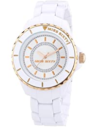 Miss Sixty Damen-Armbanduhr Analog Quarz Plastik R0753105501