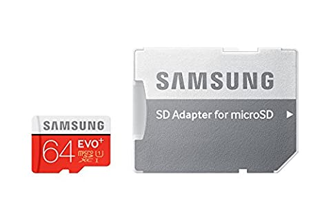 Samsung 64 Go Carte mémoire EVO Plus Micro SD Classe