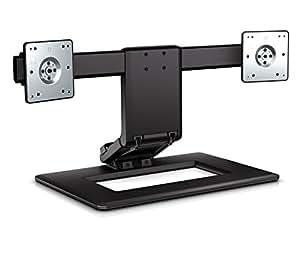 HP Adjustable Dual Monitor Stand AW664AA#UUF