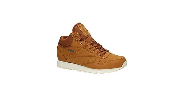 8f5d6d8e46c Reebok CL LTHR Mid Gore-Tex AQ9851 Brown Men Trainers Sneaker Shoes Size   EU 41 UK 7.5  Amazon.co.uk  Shoes   Bags