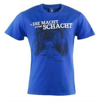 S04 Shirt T-Shirt Die Macht aus`m Schacht Gr. S-3XL FC Schalke 04, Größe:M