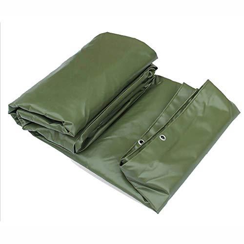 YXX- Grüne PVC-wasserdichte Plane Tarp-Hochleistungs verdicken regendichte Tuch-Swimmingpool-Abdeckung (größe : 5x7m)