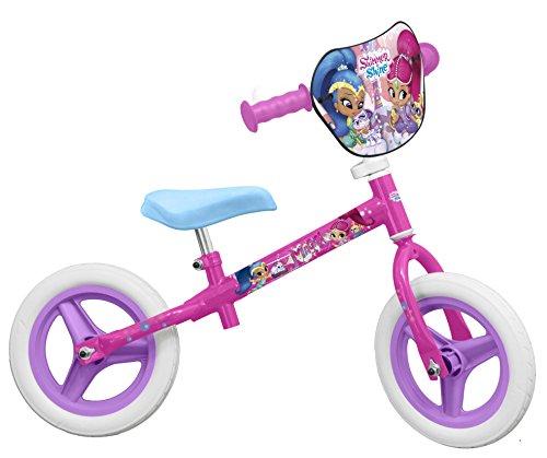 """TOIMSA 131–Bicicleta sin pedales para niña–Shimmer and Shine–10"""""""