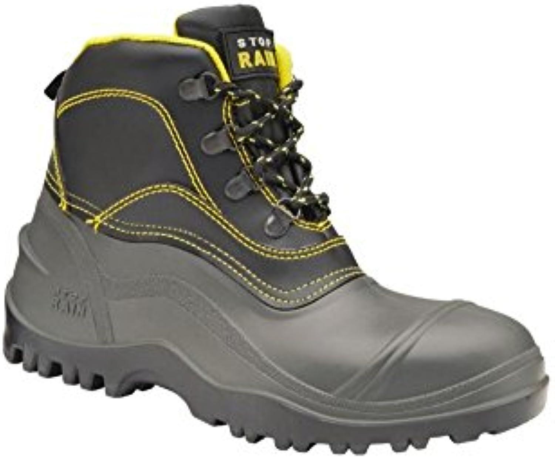Stop Rain - Bota negra s5 - botas de seguridad