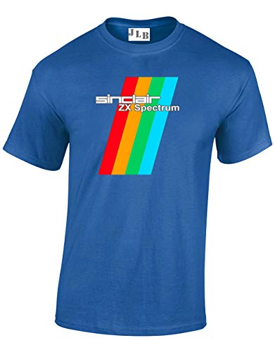 Adults Sinclair ZX Spectrum T-shirt, choice of colours, S to 5XL
