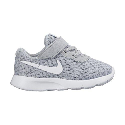 Nike Tanjun (TDV), Scarpe da Ginnastica Basse Unisex-Bambini, Grigio (Wolf Grey White 012), 26 EU