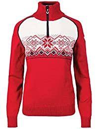 Dale of Norway - Jersey para mujer Frostisen UC, color frambuesa, talla XL, 93082