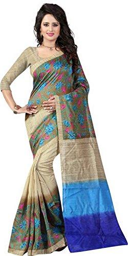 Saree(Traditional fashion bhagalpuri Saree For Women Party Wear Half Sarees Offer Designer...