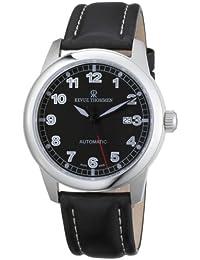 Revue Thommen Pilot Basic Automatic Black 17070.2537 - Reloj de caballero automático con correa de piel negra