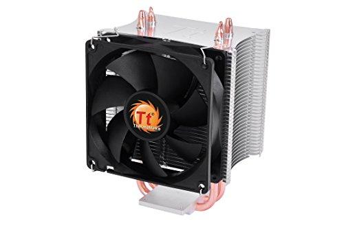 Thermaltake Contac 16 - Disipador de CPU, color negro y plata