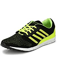 Fucasso Men's Synthetic Black Green Sports Shoes