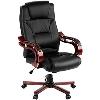 Tectake sedia direzionale da ufficio della classe di lusso for Sedia da ufficio amazon