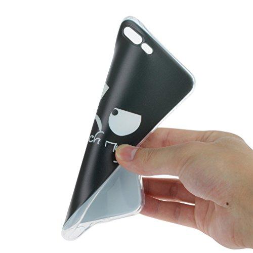 a9h iPhone 7étui iphone 7Ultra Doux Flexible Bumper en silicone Anti Scratch Coque pour iPhone Transparent 7Case Cover 03HUA
