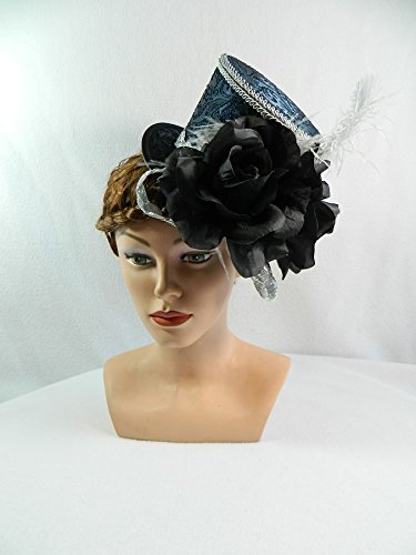 amenhut Gothic Fascinator Headpiece Anlasshut ()