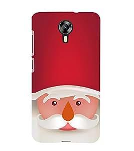 EPICCASE Santa Face Mobile Back Case Cover For Micromax Canvas Express-2 (Designer Case)
