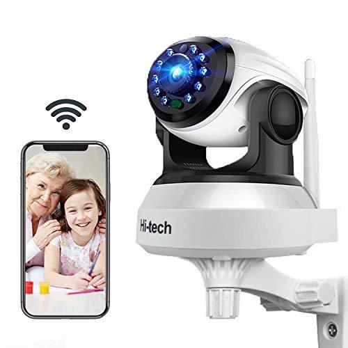Caméra IP WiFi, Hi-tech Caméra de Surveillance WiFi sans Fil d'intérieur,HD1280 x 720P- P2P avec...