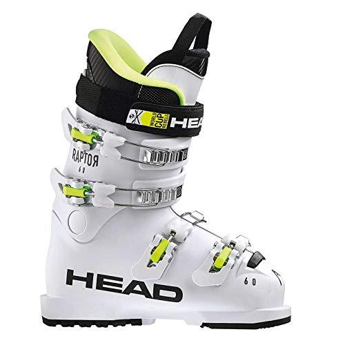 HEAD Kinder Skischuhe Raptor 60 White Weiss (100) 26,5