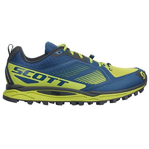 Scott chaussures running Kinabalu supertrac 2016 BLU-GIALLO