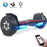 Windgoo Hoverboard, 8,5 Zoll Elektro Scooter, E-Skateboard mit Bluetooth Lautsprecher.