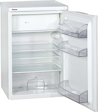 Bomann KS 107.1 Kühlschrank / A+ / Kühlen: 104 L / Gefrieren: 14 L / weiß