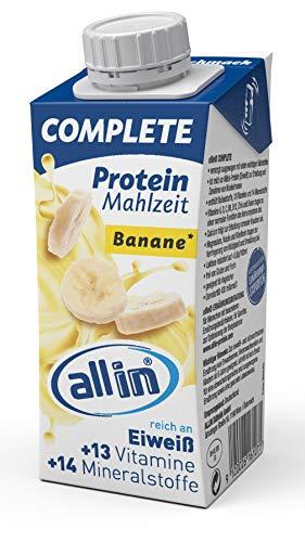 allin COMPLETE Protein Mahlzeit Banane 14 x 200 ml -
