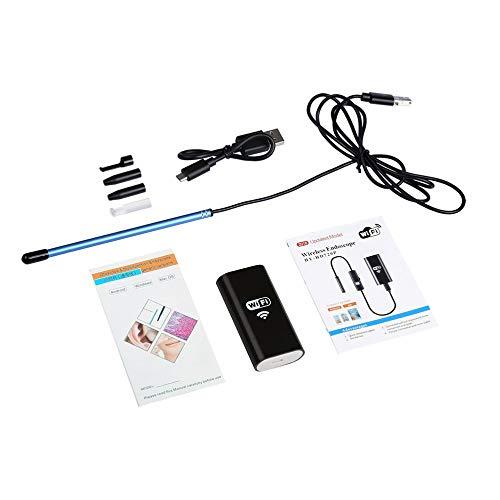 Preisvergleich Produktbild 3 in 1 USB-Ohrreinigungs-Endoskop Earpick mit Mini-Kamera HD-Ohrenschmalz-Entfernung